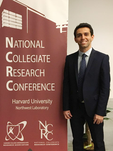 Areian Eghbali of UCSD at Harvard