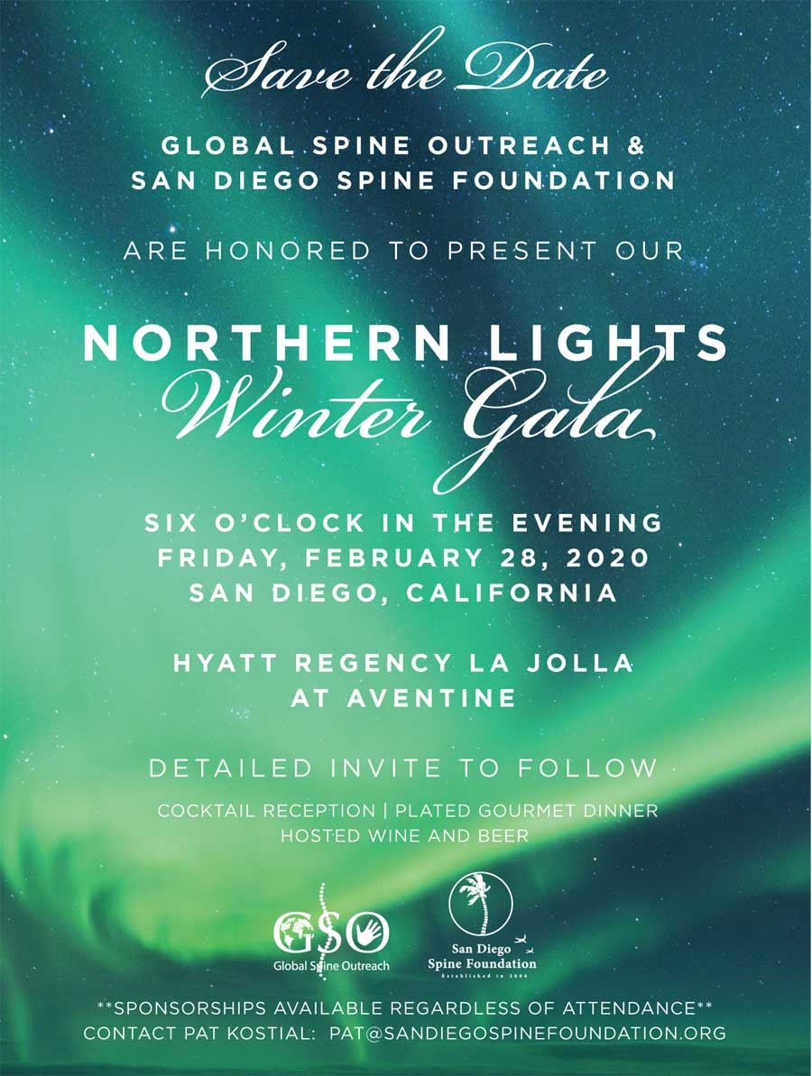 Northern Lights Save the Date